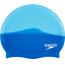 speedo Multi Colour Silicone Cap Neon Blue/Japan Blue